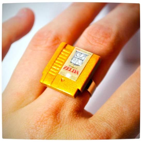 Vamers - Geekosphere - SUATMM - OhMyGeekness by Jess Firsoff - NES Cartridge Rings