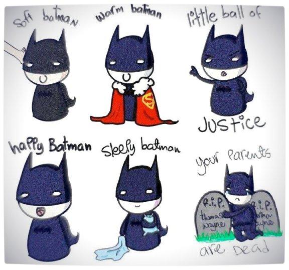 Vamers Humour - The Big Bang Theory - Soft Kitty Song - Batman Style