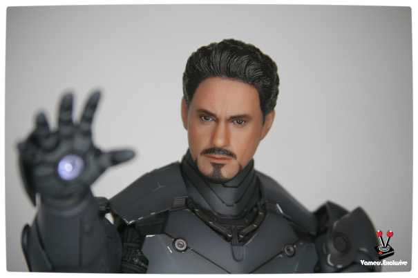 Vamers - Hot Toys - Limited Edition Collectible - Iron Man Mark III - SIlly Thing's TK Edition - MMS101 - Tony Stark Ready to Fire 2
