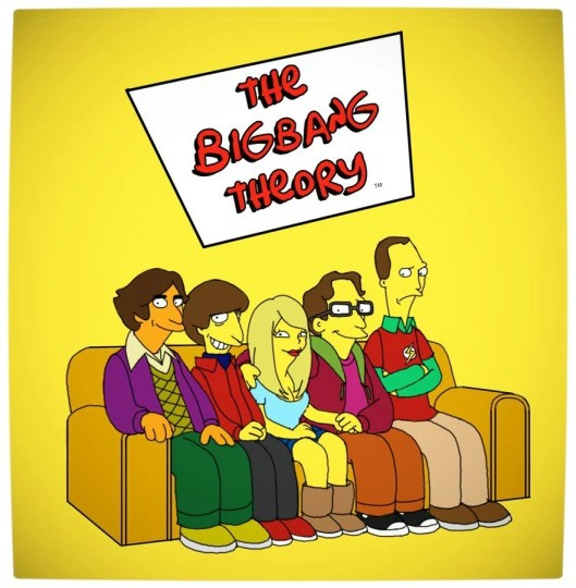 Vamers Humour - The Big Bang Theory - The Simpsons Mash-Up