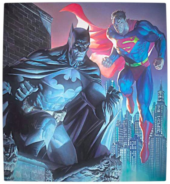 Vamers - Movies - Superman and Batman Unite for new DC Superhero Movie in 2015