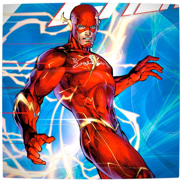 Vamers - Artistry - What if your favourite superhero had a corporate sponsorship - The Flash sponsored by Red Bull 03