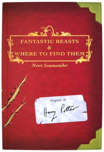 Vamers - FYI - Movies - Fantastic Beasts and Where to Find Them Movie Officially Announced - Red Cover