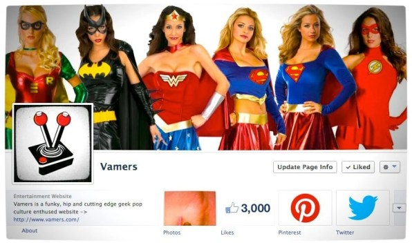 Vamers - Growth - Facebook 3000 Likes - Proper