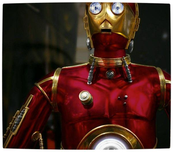 Vamers - Humour - C3PO Wants to be Iron Man - Realistic