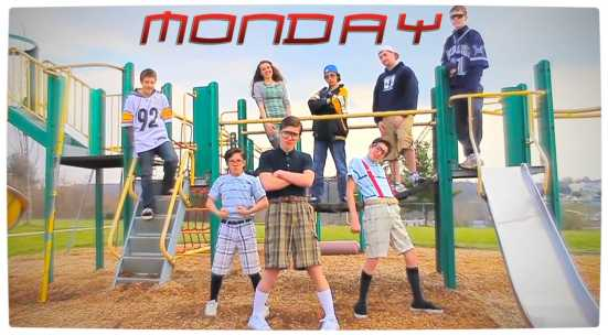 Vamers - Humour - It's Monday Five Great Nerdy and Geeky Days Until the Weekend - Parody of Rebecca Black's Friday - The Monday Group