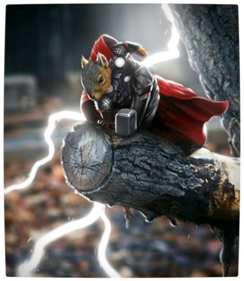 Vamers - Humour - It's Thorsday Hammer Time with Thorrel - Lightning