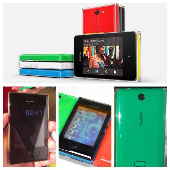 Vamers - FYI - Gadgetology - Nokia Introduces the Lumia 1520 and Asha 500 Series Smartphones - Nokia Asha 500, 502 and 503 Hands On