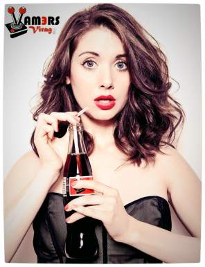 Vamers Virago for February 2014: Alison Brie.