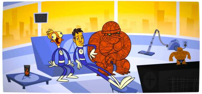 Vamers - Geekosphere - TV and Movies - The World of Heroes does have 'Bad Days' - Fantastic Four