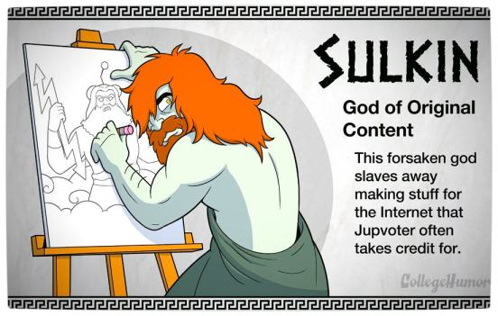 Vamers - Geekosphere - The Gods and Goddesses of the Internet Pantheon - Sulkin