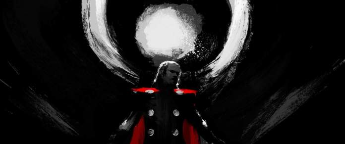 Vamers - Artistry - Thorsday - Enjoy the End Credits Artwork for 'Thor- The Dark World' on Thorsday - Thor Halo