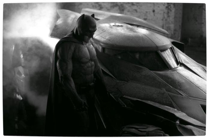 Vamers - FYI - Movies - First Look at Ben Affleck's Batsuit Costume and Batmobile for Batman Versus Superman the Movie - Full