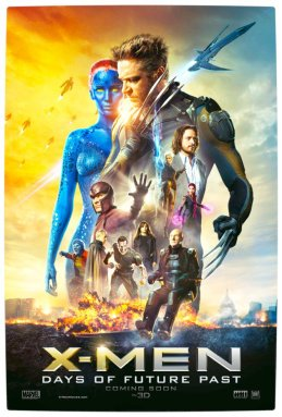 Vamers - FYI - Movies - X-Men- Days of Future Past - Official Poster