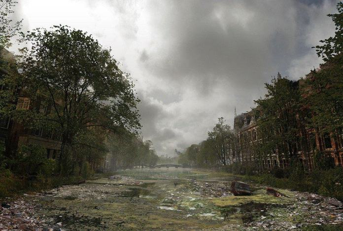 Vamers - Artistry - The World of The Last of Us- Envisioning a Post Apocalyptic Future - Amsterdam Waterway Apocalypse