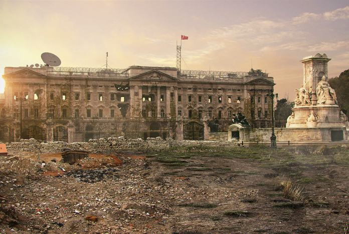 Vamers - Artistry - The World of The Last of Us- Envisioning a Post Apocalyptic Future - Buckingham Palace Apocalypse