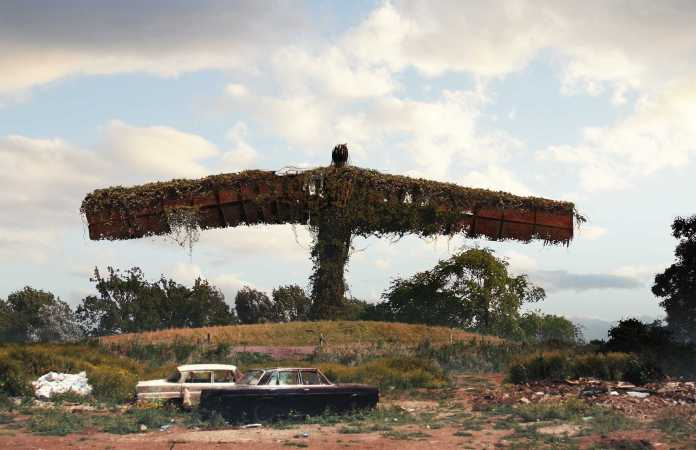 Vamers - Artistry - The World of The Last of Us- Envisioning a Post Apocalyptic Future - Gateshead Angel of the North Apocalypse