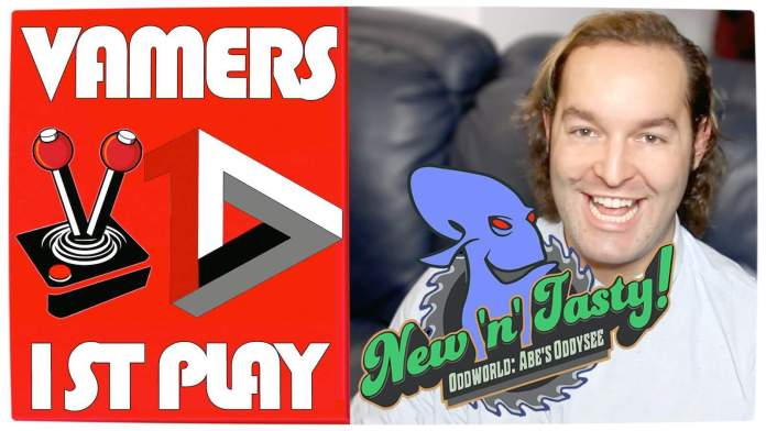 Vamers First Play - Thumbnail - New 'n' Tasty! Oddworld Abe's Oddysee featuring Hans Haupt