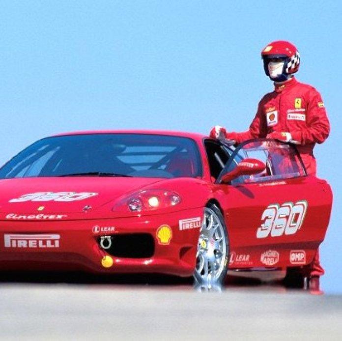 Vamers - Geekmas Gift Guide - Drive a Ferrari Challenge Ferrari F360