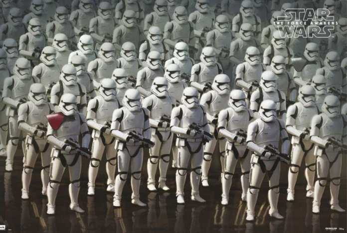 Vamers - FYI - Movies - Three New Posters for Star Wars- The Force Awakens - First Order Stormtroopers