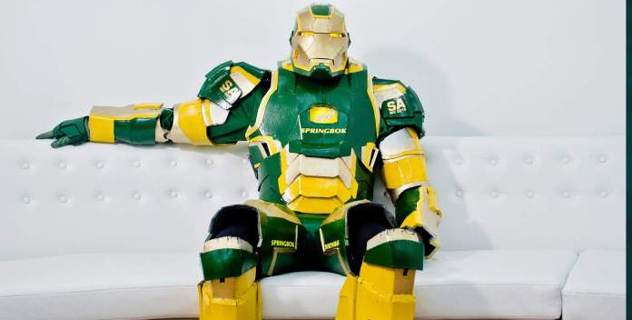 Vamers - Geekosphere - Lifestyle - Cosplay - Springbok's No. 1 Fan is Also South Africa's very own Iron Patriot - Banner