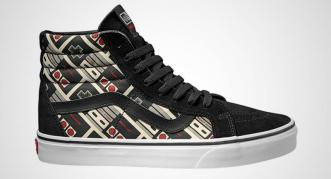 Vamers - FYI - Fashion - Geek Lifestyle - These Official Nintendo Themed Vans Are Wicked Cool - NES Controller