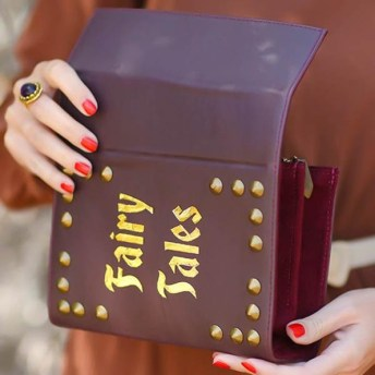 Vamers - FYI - Lifestyle - Fashion - Skinny Bags Makes Clutches that Look Like Books - Fairy