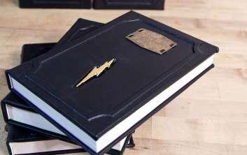Vamers - FYI - Ermahgerd - SUATMM - Riddikulus-ly Gorgeous Leather Harry Potter Books - 01