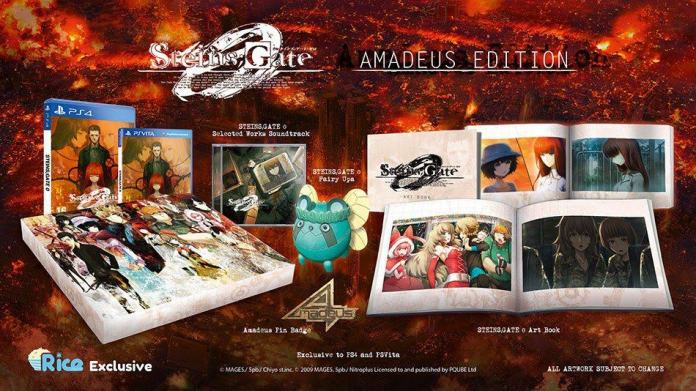 Vamers - FYI - Video Gaming - Steins;Gate 0 Standard and Amadeus Edition Now Available for Pre-Order - 01