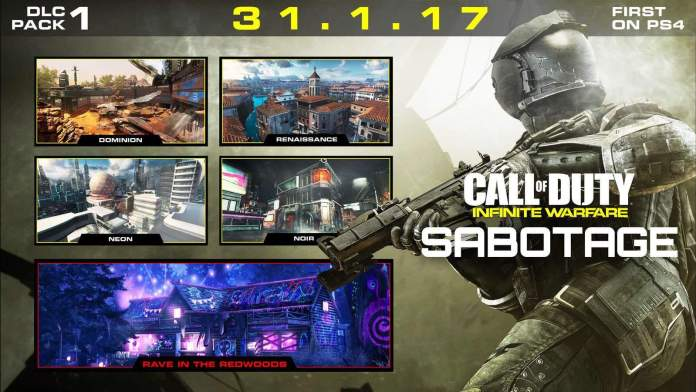 Vamers - FYI - Video Gaming - Call of Duty Infinite Warfare's Sabotage DLC on PS4 first - 01
