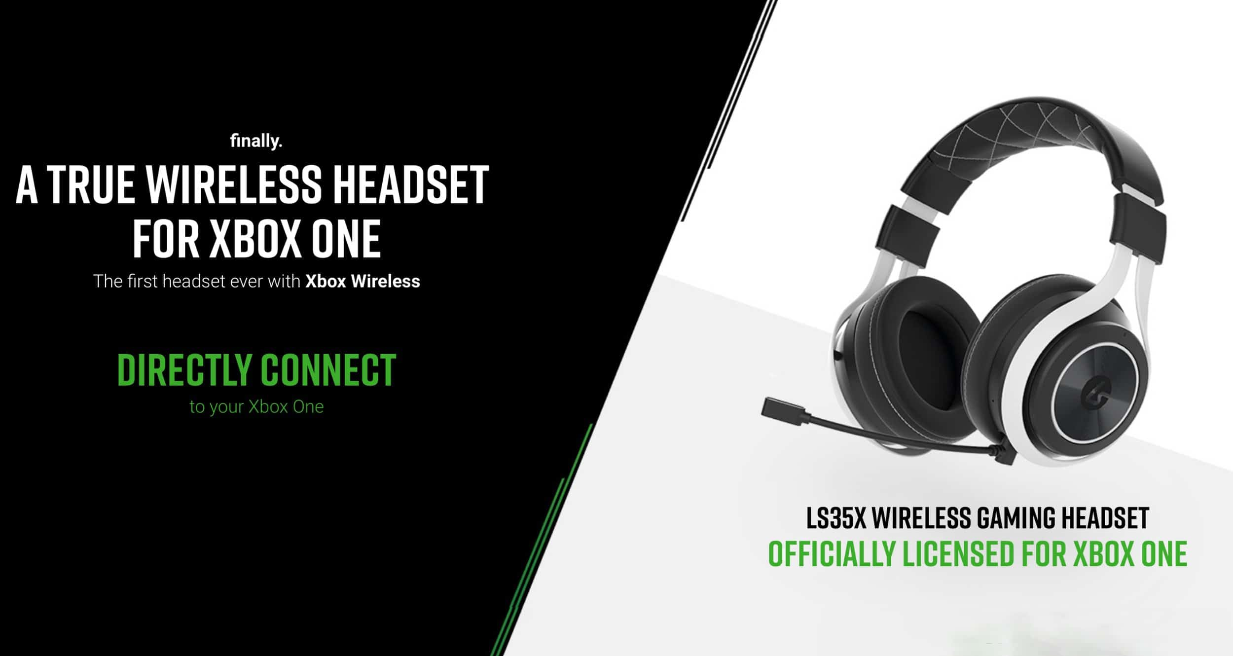 LucidSound LS35X is First Gaming Headset to Use Xbox