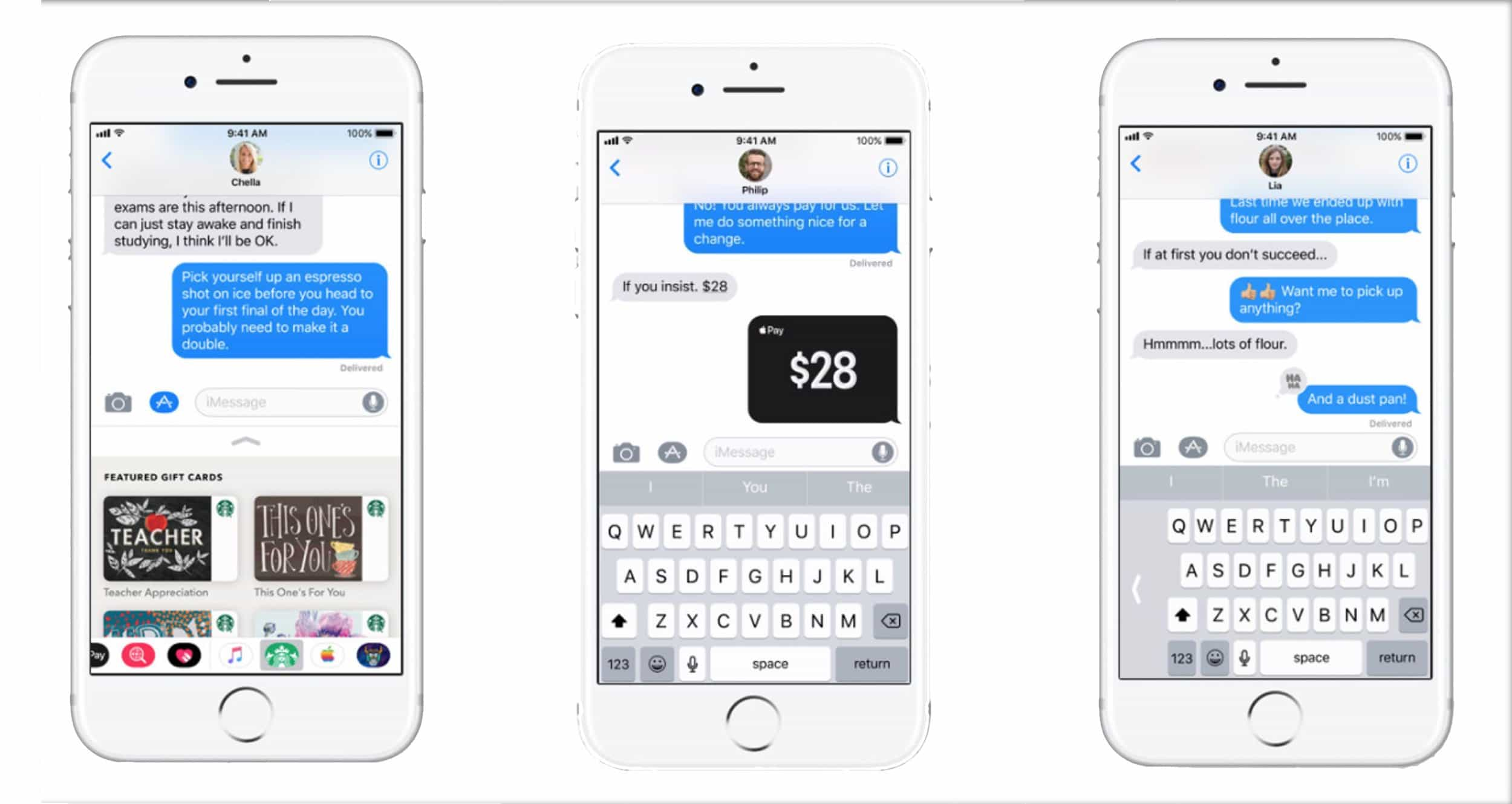 WWDC 2017: iOS 11 iMessage app integration enhanced and P2P Apple Pay