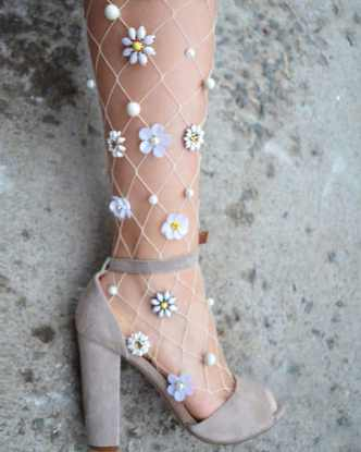 Vamers - FYI - Geekosphere - Fashion - These Fairy Tale and Mermaid Stockings will bring your Fantasies to Life - 3