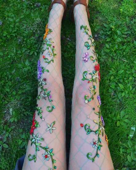 Vamers - FYI - Geekosphere - Fashion - These Fairy Tale and Mermaid Stockings will bring your Fantasies to Life - 6