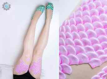 Vamers - FYI - Geekosphere - Fashion - These Fairy Tale and Mermaid Stockings will bring your Fantasies to Life - 8