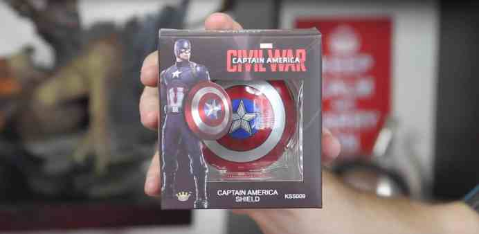 Vamers - FYI - Review - Hands-On - Unboxing the Marvel Legends 75th Anniversary Captain America Metal Shield from Hasbro - 1