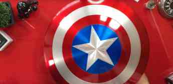 Vamers - FYI - Review - Hands-On - Unboxing the Marvel Legends 75th Anniversary Captain America Metal Shield from Hasbro - 8