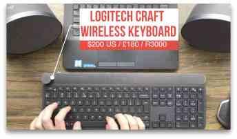 Vamers - Technology - Logitech Product Showcase Event 2017 - Logitech Craft Keyboard