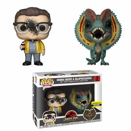 Vamers - Comics & Toys - 25th Anniversary Jurassic Park Funko Pop Collection includes sexy Ian Malcolm - 10