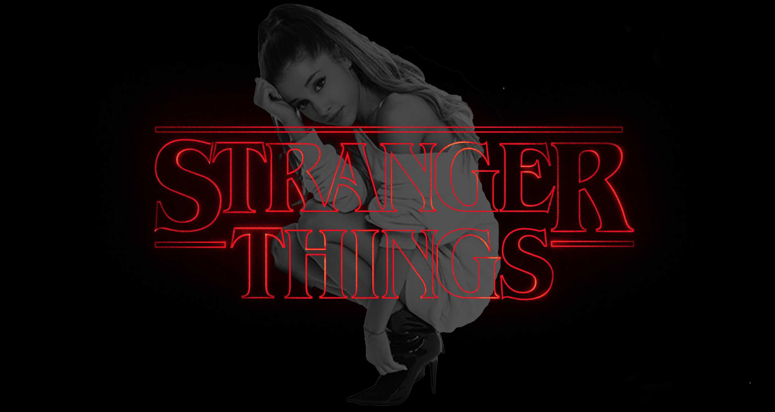 Stranger Things X Ariana Grande is a super sexy synth pop mashup