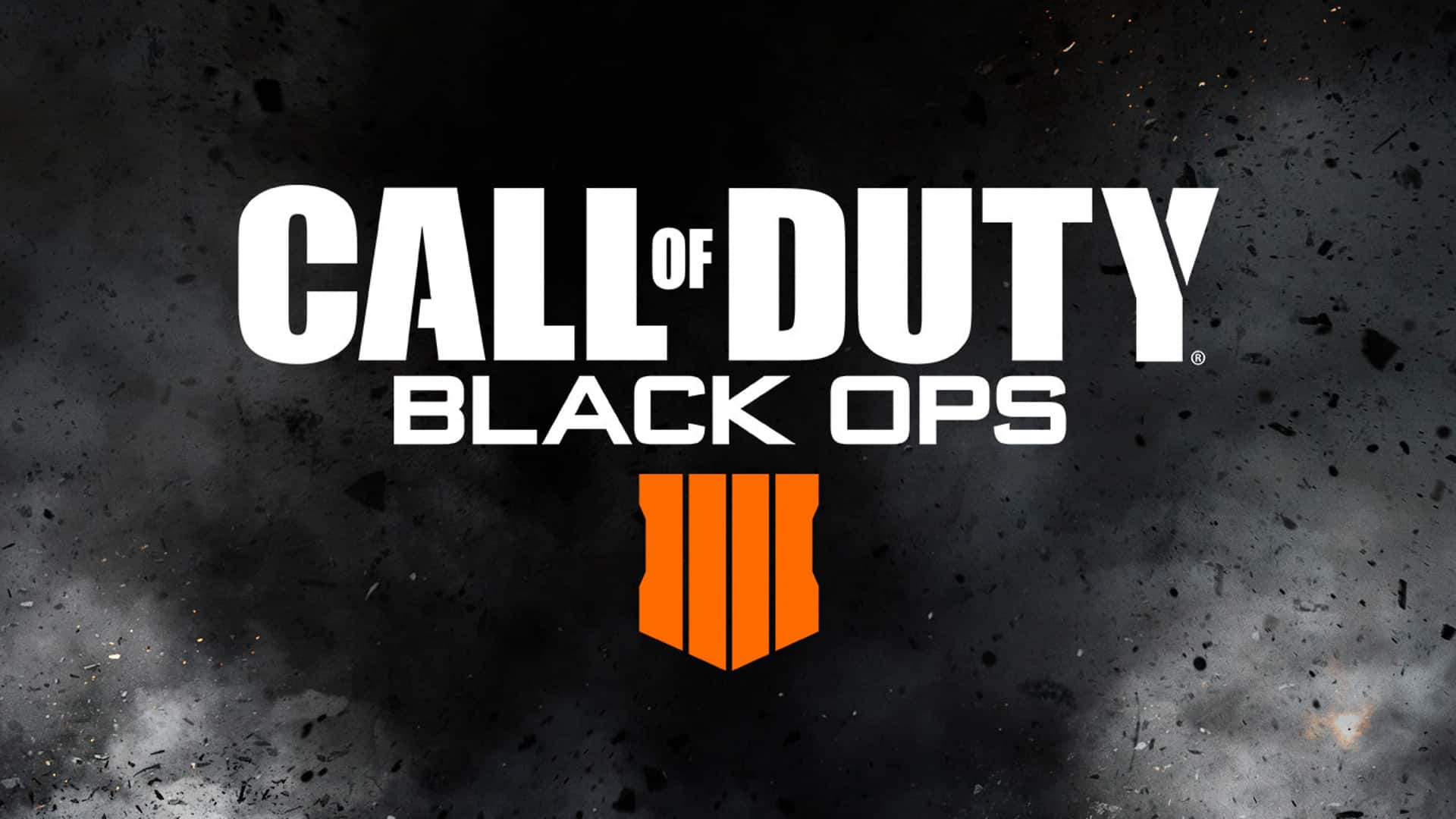 An official announcement of Call of Duty: Black Ops 4