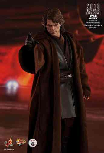 Vamers Store - Hot Toys - MMS486 - Star Wars Ep. III - Anakin SKywalker (Darkside) - Toy Fair Exclusive - 8