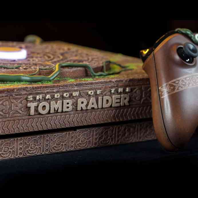 Vamers - Gaming - Mayan inspired Custom Shadow of the Tomb Raider Xbox One X is Gorgeous - 1