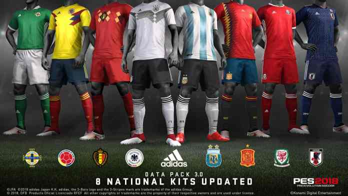 PES 2019 Data Pack 3 adds new stadiums and more