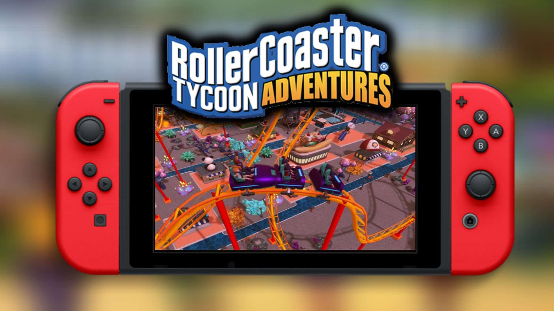 Rollercoaster Tycoon Adventures brings the series to