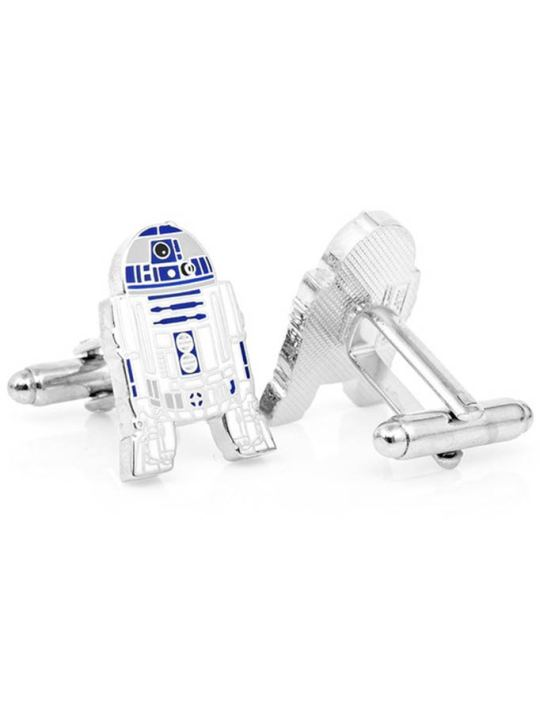 Vamers Store - Merchandise - Geek Chic - Accessories - Cufflinks - Star Wars Inspired R2-D2 Cufflinks 02