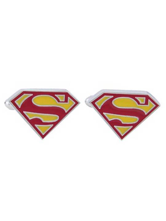 Vamers Store - Merchandise - Geek Chic - Accessories - Cufflinks - Superman Symbol Cufflinks - 01