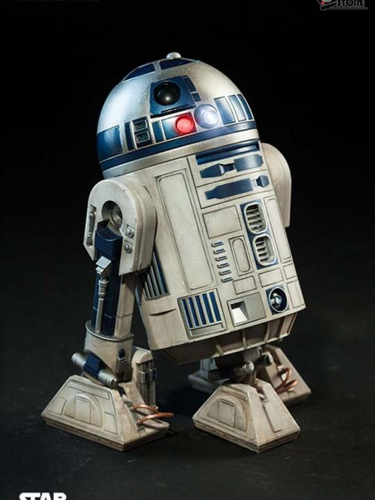 Vamers Store - Sideshow Collectibles - VS-SSC-R2D2DLX - R2-D2 Deluxe Limited Edition Collectible Figurine 01