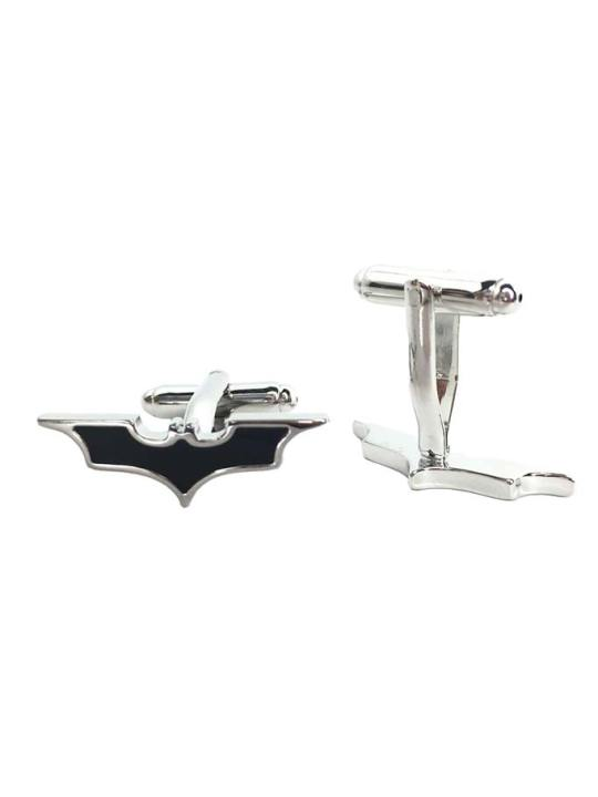 Vamers Store - Merchandise - Geek Chic - Accessories - Cufflinks - Batman Inspired The Dark Knight Symbol Cufflinks 02