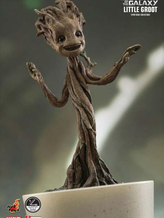 Vamers Store - Hot Toys - QS004 - Guardians of the Galaxy - Little Groot Collectible 03